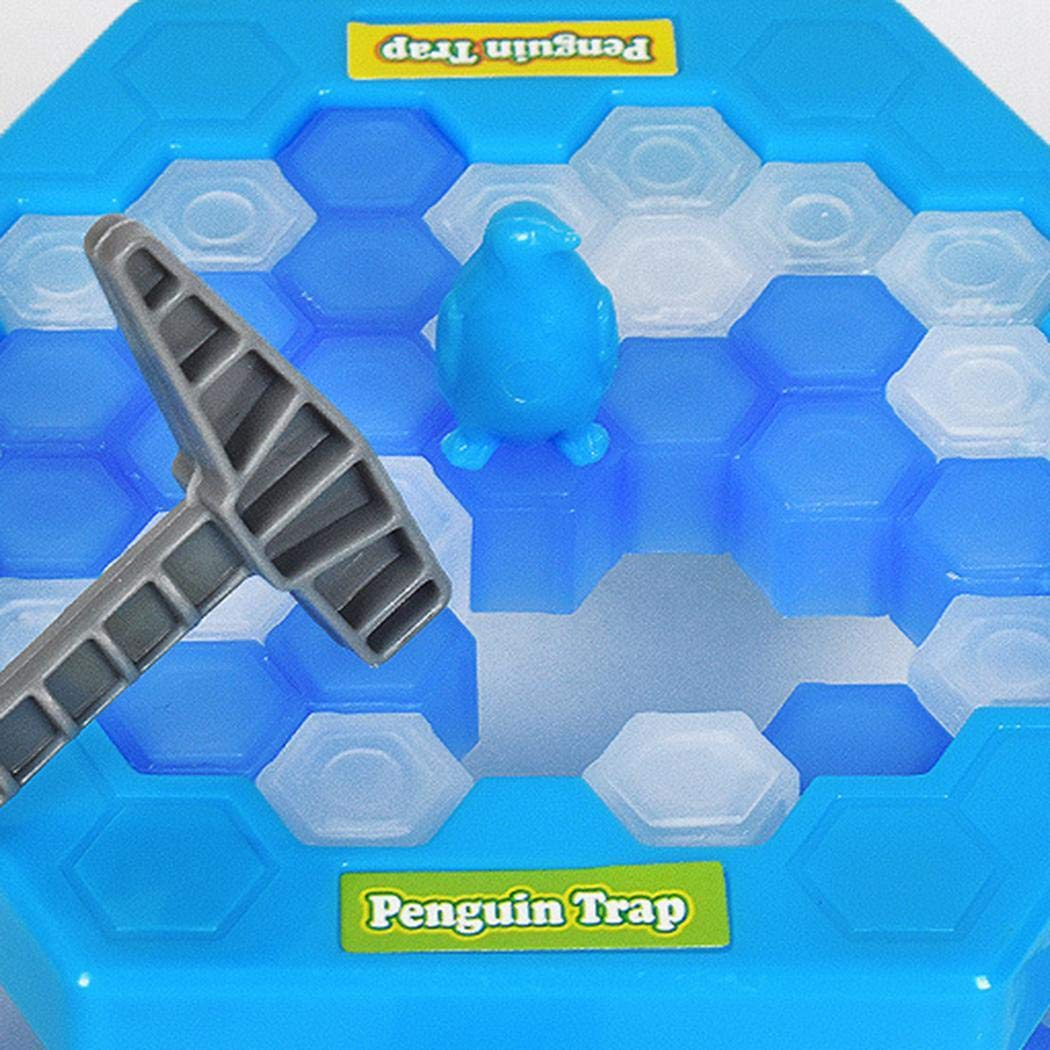 Legros Family Fun Ice Breaking Save The Penguin Game Mini Trap Zd 001 Educational Toy Toys Games
