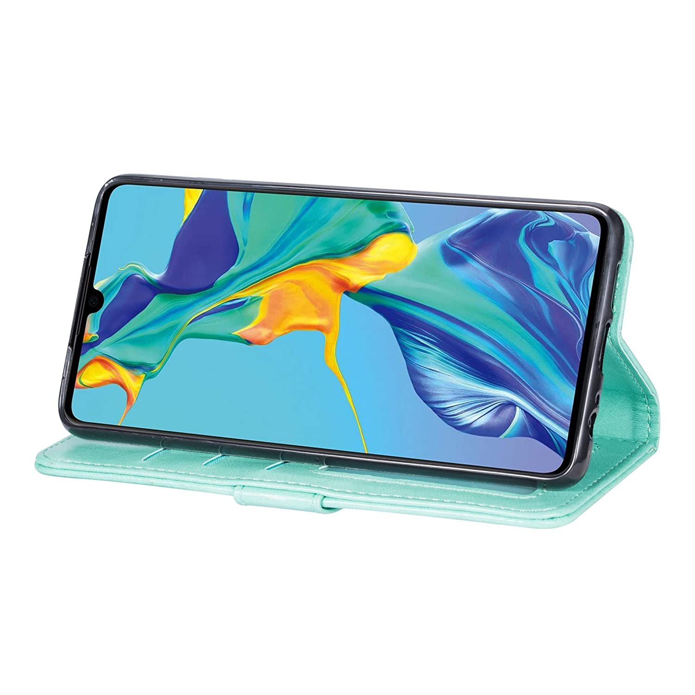 Jinghuash Kompatibel mit Huawei P Smart Plus 2019 H/ülle PU Leder Flip Case Brieftasche Ledertasche Tasche Klapph/ülle mit Rei/ßverschluss Lederh/ülle HandyH/ülle f/ür Huawei P Smart Plus 2019-Schwarz