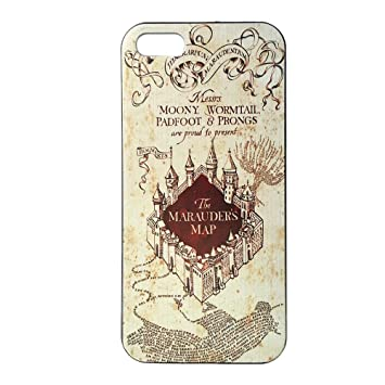 info for 599bd a47bd Harry Potter iphone 5 case - Hogwarts Marauder Map Hard iPhone Case 5S  iPhone Cover 5 Hard Case Back Cover 5S