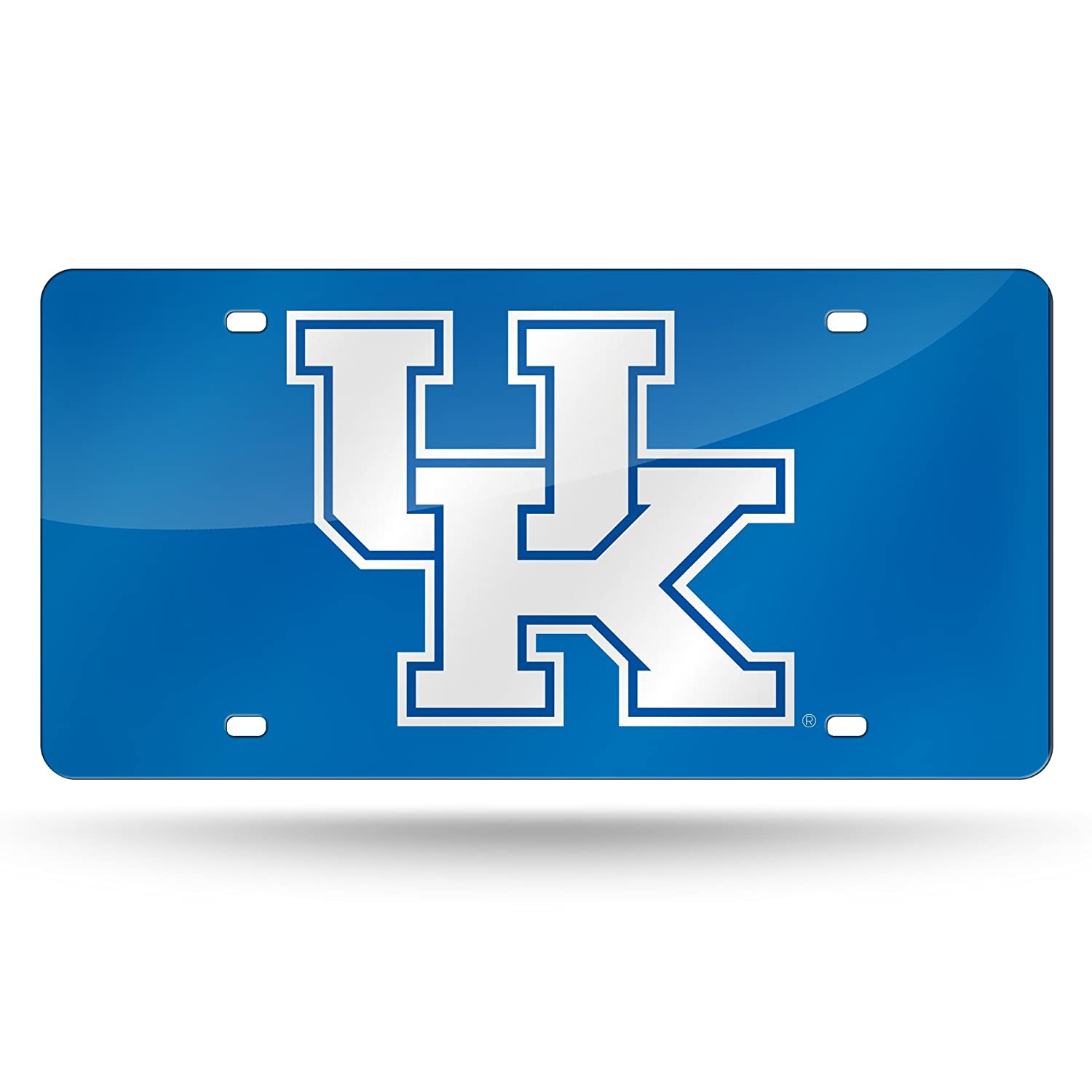 NCAA Kentucky Wildcats Laser Inlaid Metal License Plate Tag