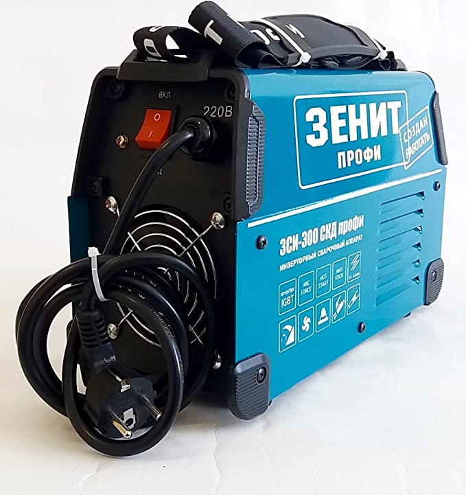 Welding machine inverter ZSI-300 SKD Professional welder 300A 220V 4.3kg IGBT plastic case - - Amazon.com