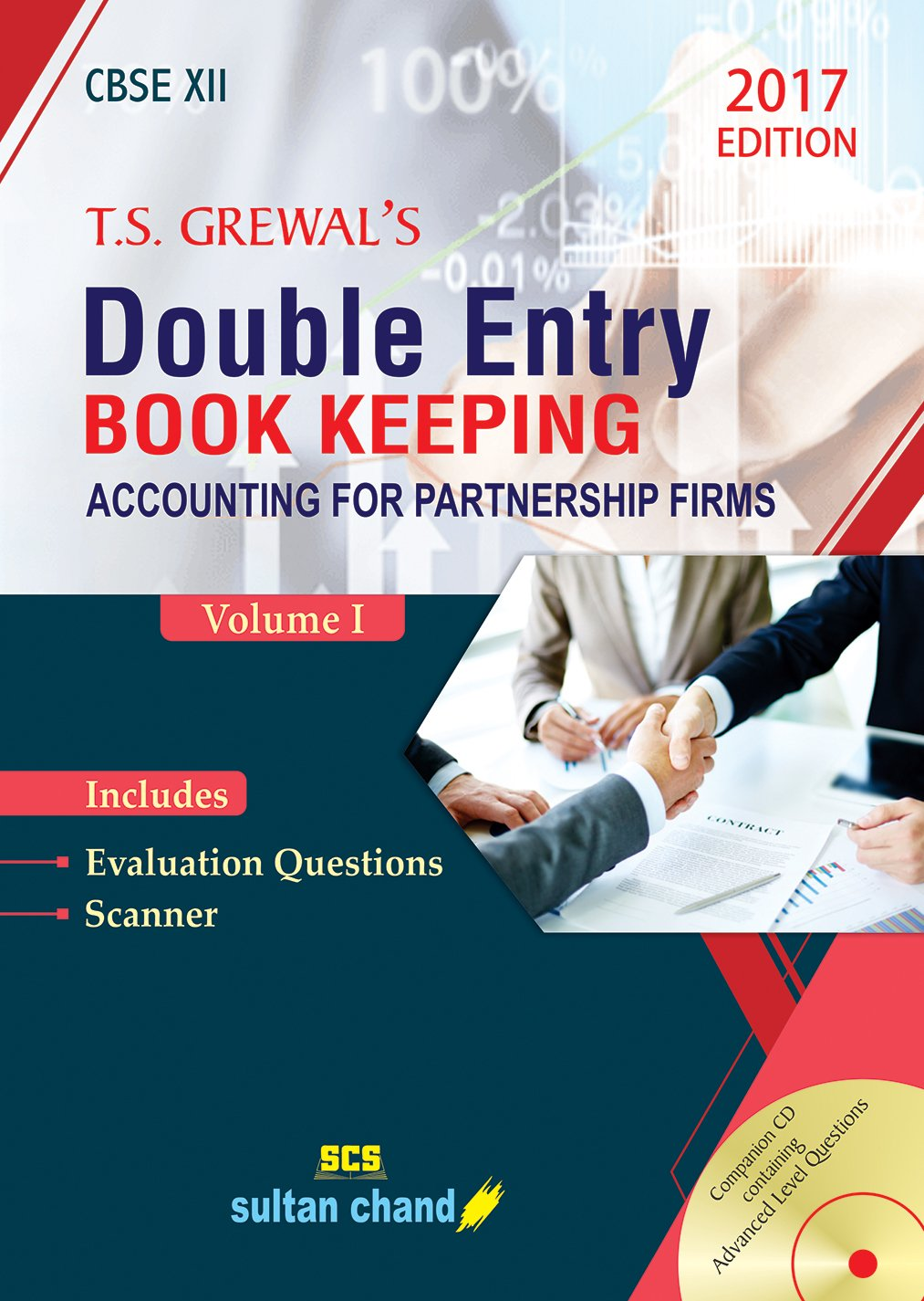 T.S. Grewal's Double Entry Book Keeping - CBSE XII Vol. 1: Accounting for  Partnership Firms Old Edition: Amazon.in: T.S. Grewal, H.S. Grewal, G.S.  Grewal, ...