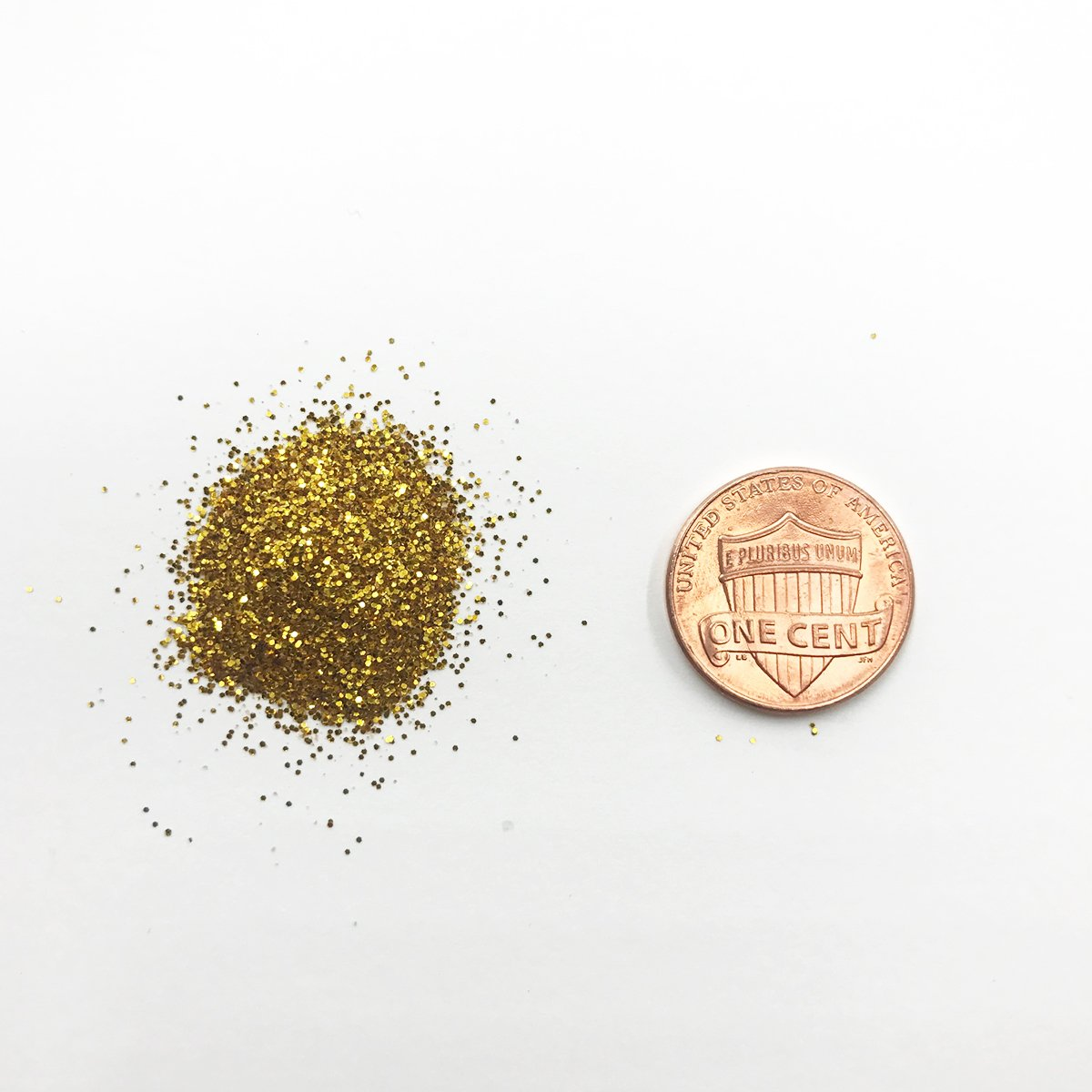 Craft and Party, 1 pound bottled Craft Glitter for Craft and Decoration (Gold)