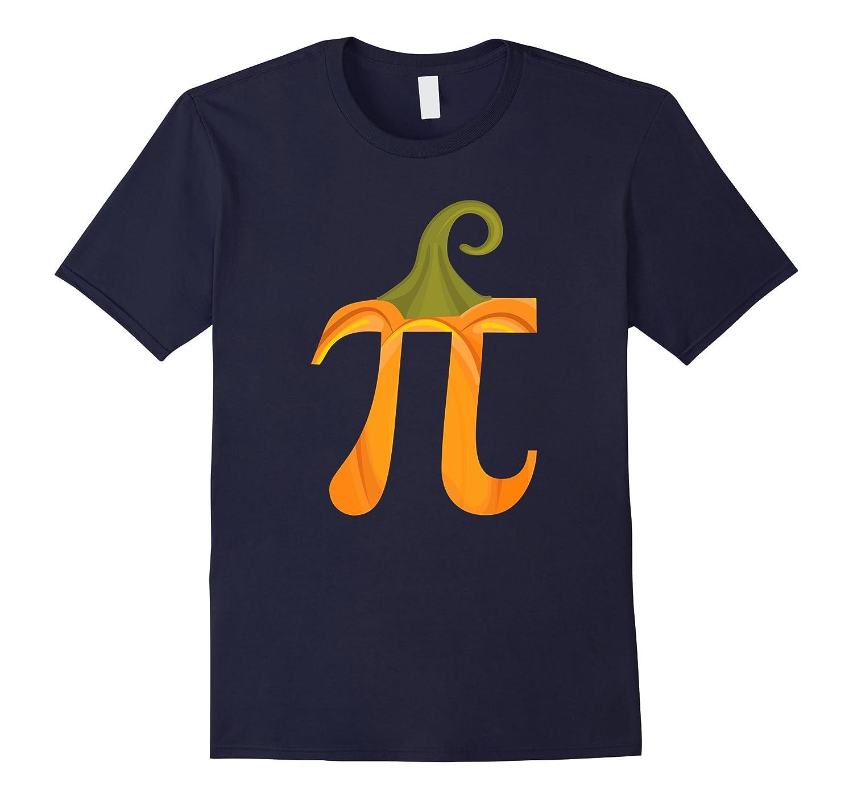 Funny Halloween Math Pun T-Shirt Pumpkin Pi T-Shirt-ANZ