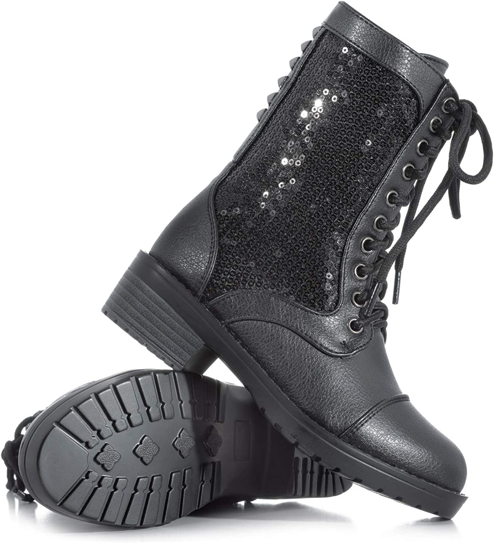girls combat boots