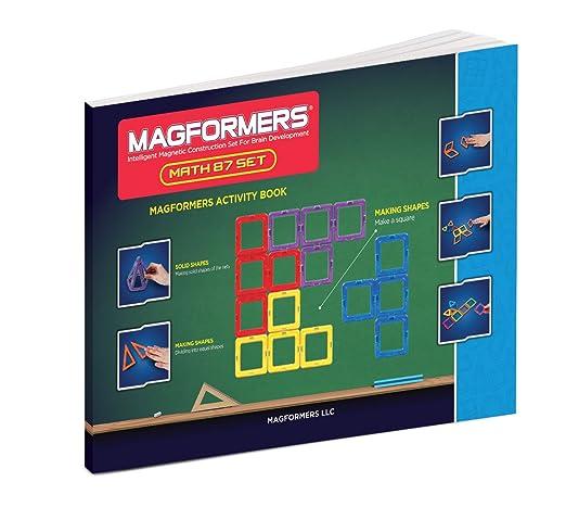 Amazon.com: Magformers Educational Math Set (87-pieces): Toys & Games