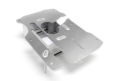 Mejorado Racing egm-204 trampa puerta aceite pan cuadrícula para GM motores de LS