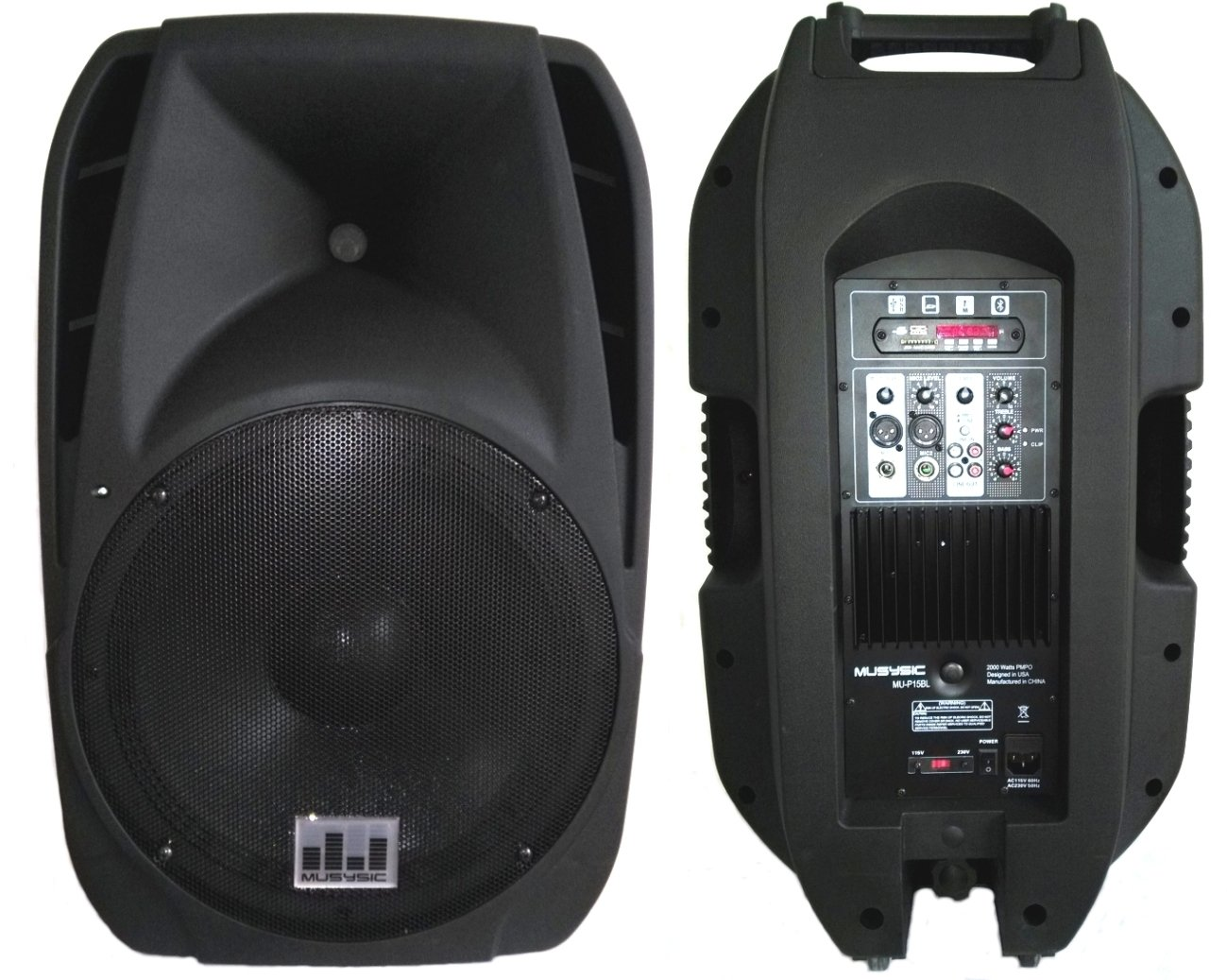 Blackmore PA System Black BJS-218BT