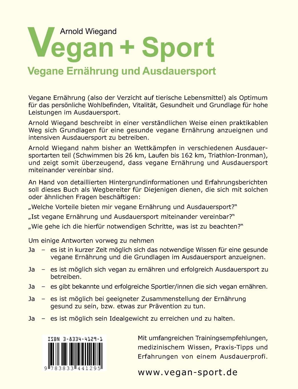Vegane Ernährung Sport Buch