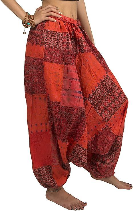 Amazon.com: Tribe Azure - Pantalones casuales de algodón 100 ...