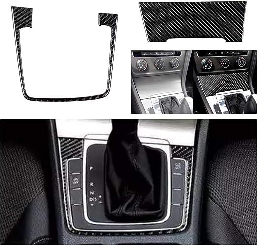 Emblem Trading Schalttafel Aschenbecher Mittelkonsole Blende Flex Carbon Optik Für Golf 7 Auto