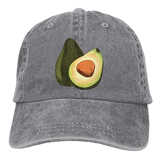 Amazon.com  Avocado Half Adjustable Cotton Cap Ash  Clothing 7cbce85e74b
