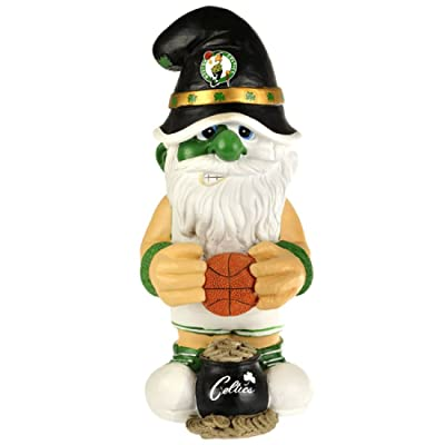 Boston Celtics Thematic Gnome - 2Nd Version : Outdoor Statues : Sports & Outdoors