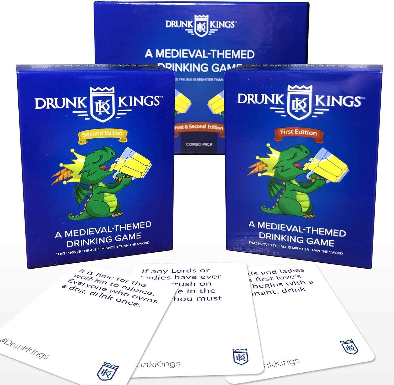 Drunk Kings – Juegos de beber para adultos – Tarjetas temáticas de ...