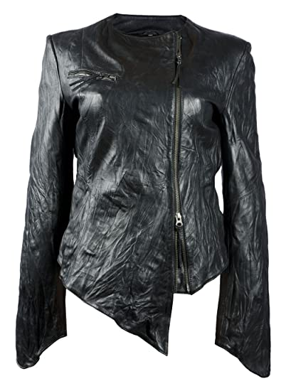 147a9f604 FE- Black Leather Jacket Women - Genuine Lambskin Women Leather Jacket