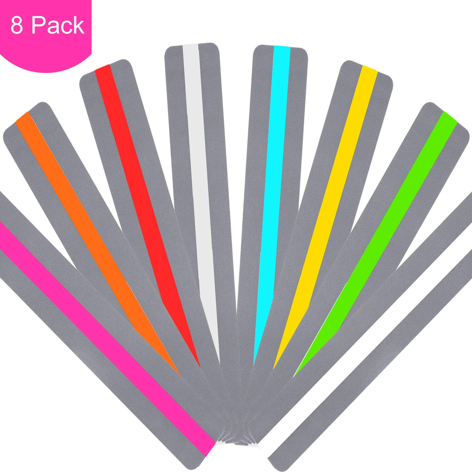Dyslexia Reading Strips with Coloured Overlays,Reading Tracking Tools for Dyslexia Irlens ADHD and Visual Stress