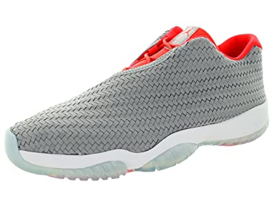 e40bfca8e77f51 Image Unavailable. Image not available for. Color  Jordan Nike Men s Air Future  Low Wolf Grey Infrared 23 White ...