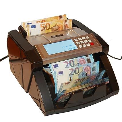 Máquina de contar dinero, contador de billetes, contador de valor, detector de billetes