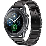 HATALKIN Band for Samsung Galaxy Watch 3 Band Bands 45mm Accessories Stainless Steel Metal Replacement Strap for Galaxy Watch