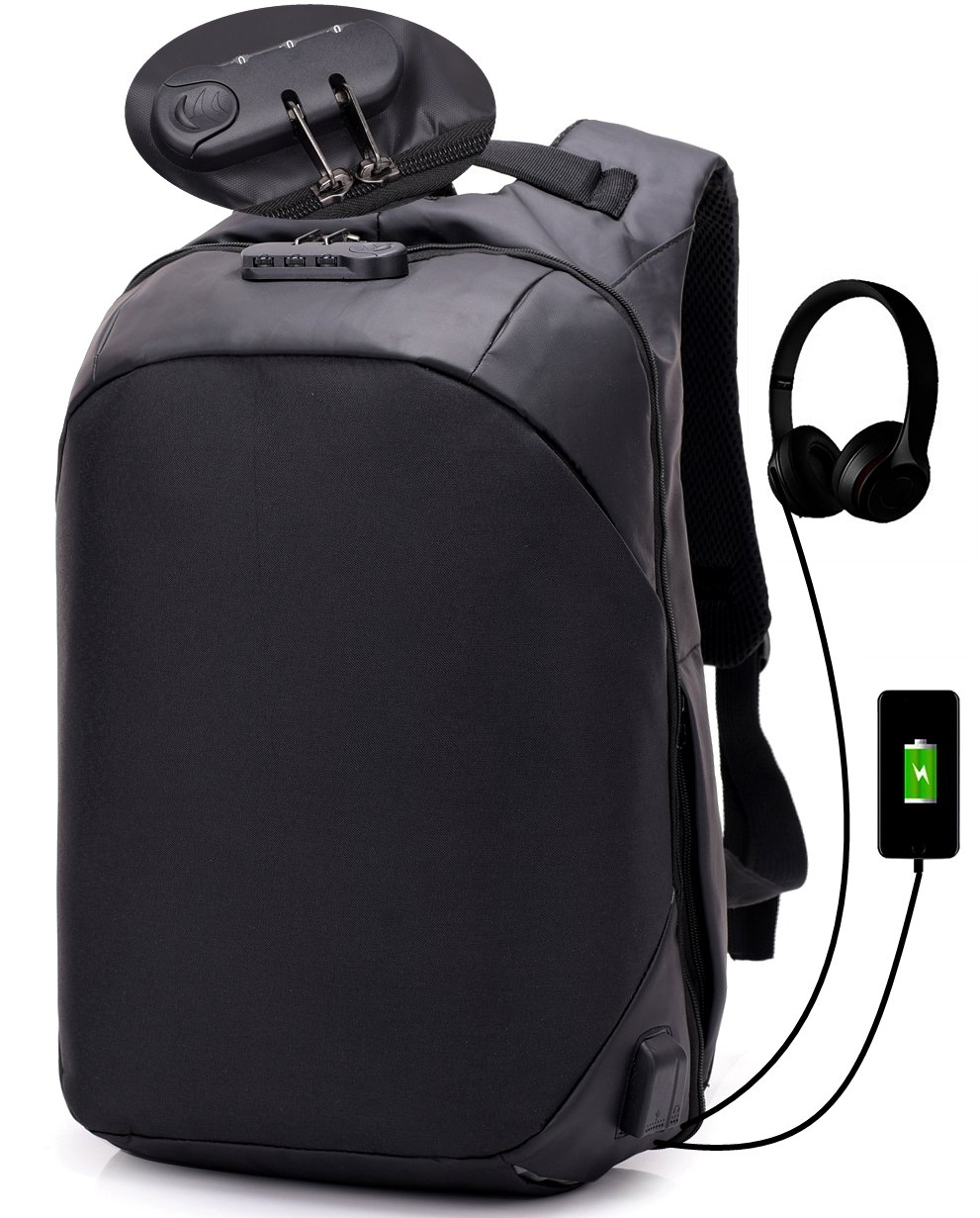 8aaa4583ee7d outlet Anti Theft Backpack For Men Travel Waterproof Laptop Backpack ...