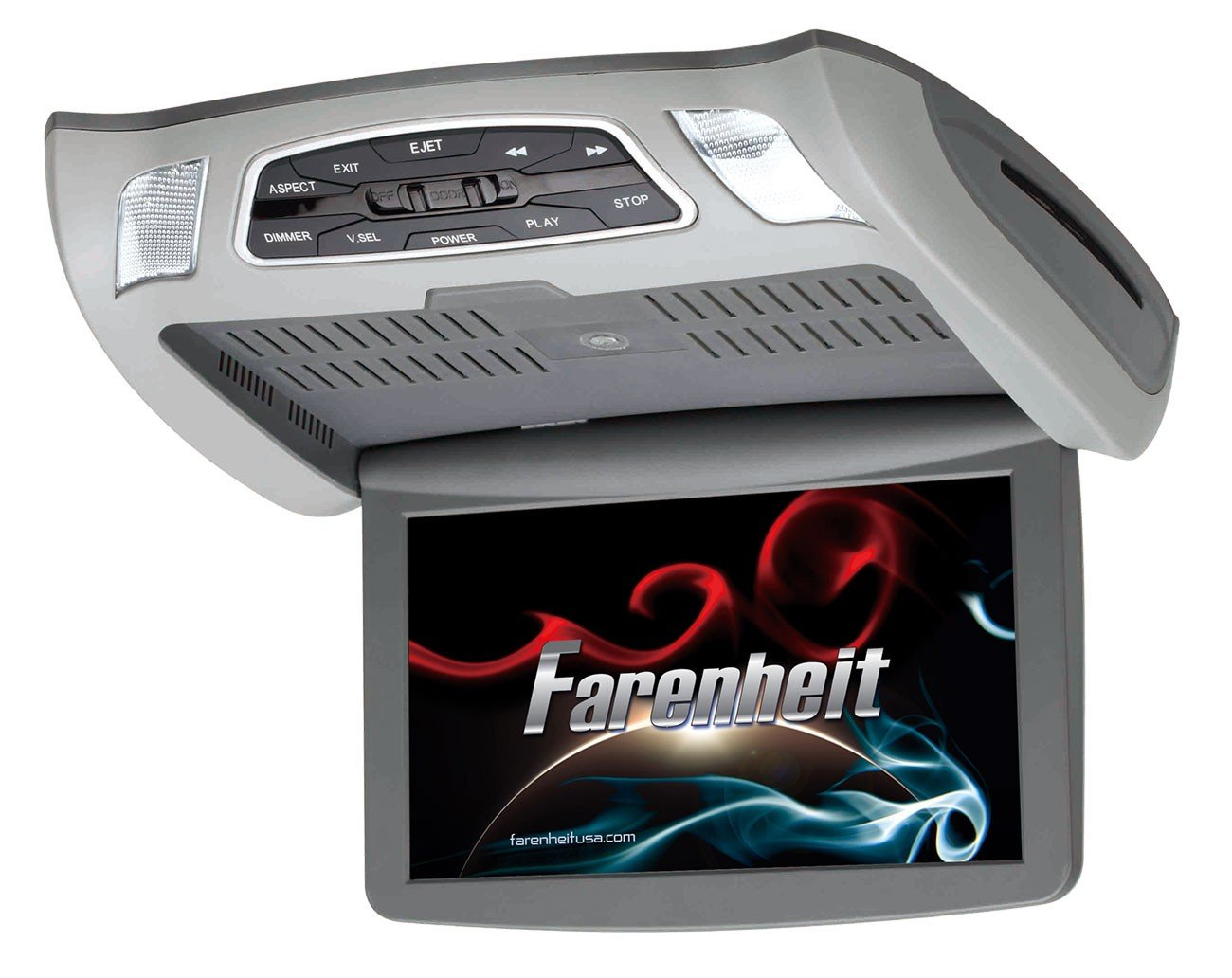 Fahrenheit Ceiling Mount DVD Entertainment System w/ 10.3'' LCD & Mobile Link Input