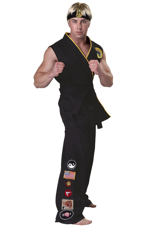 Authentic Karate Kid Cobra Kai Fancy dress costume Small