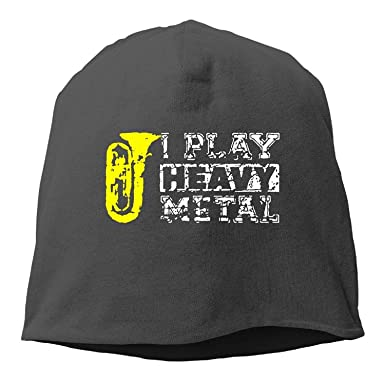 ASKYE I Play Heavy Metal Tuba Winter Beanie Skull Cap Warm Knit ...