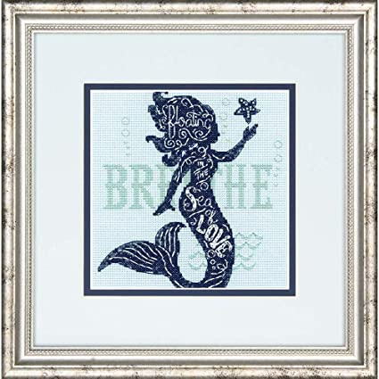 Counted Cross Stitch Kit SEA BEAUTY Mermaid Dimensions  NEW RELEASE!!