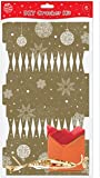 Sale 12 white make fill your own cracker boards amazon make your own gold christmas crackers pack of 6 solutioingenieria Image collections