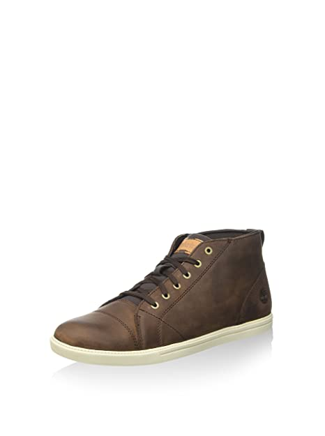 Timberland Fulk F/L Cap Toe CHU Pine Cone, Botines para Hombre, Marrón, 44 EU: Amazon.es: Zapatos y complementos