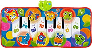 Playgro Jumbo Jungle Musical Piano Mat, Multicolour (0186995)