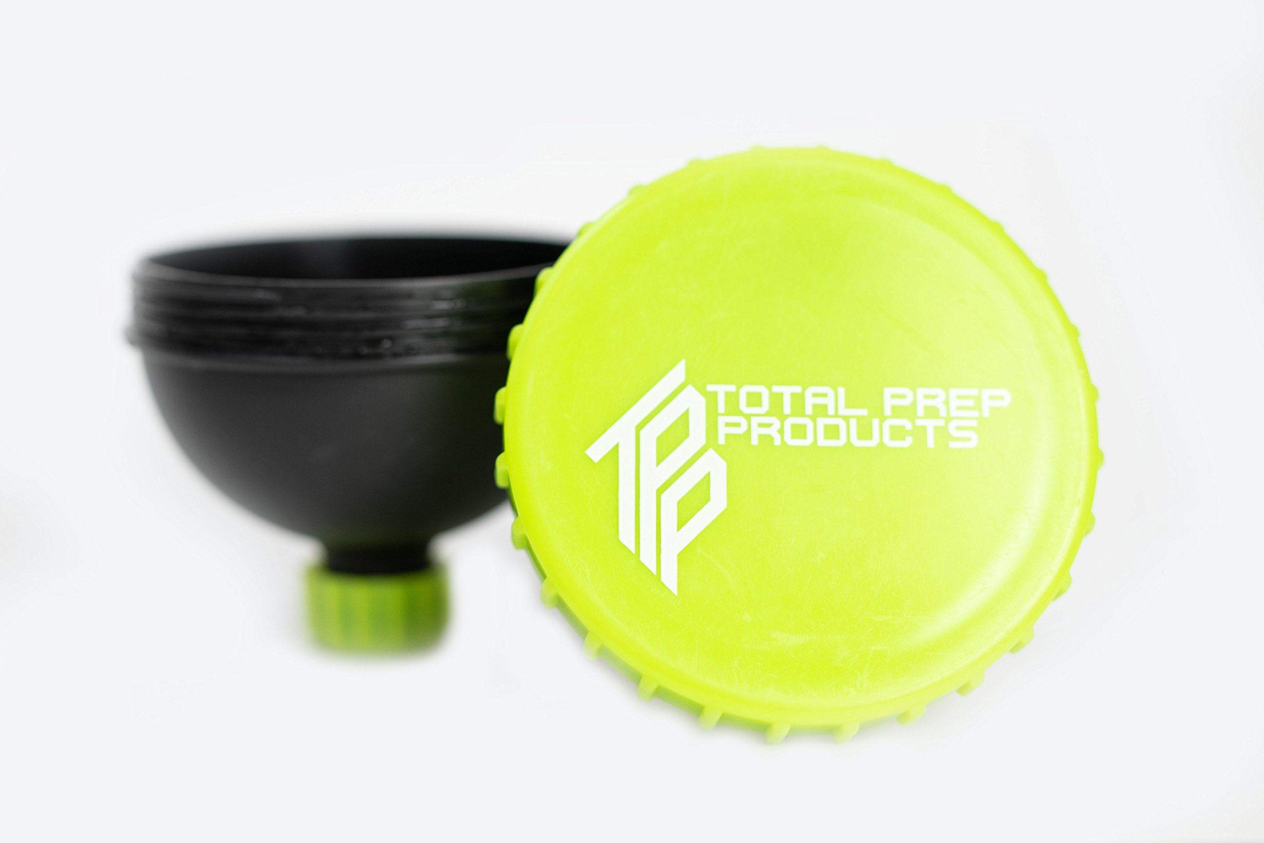 Total Prep Products Portable Protein Funnel BPA Free Non Toxic 3 Pack Multiple Colors by Total Prep Products (Image #5)