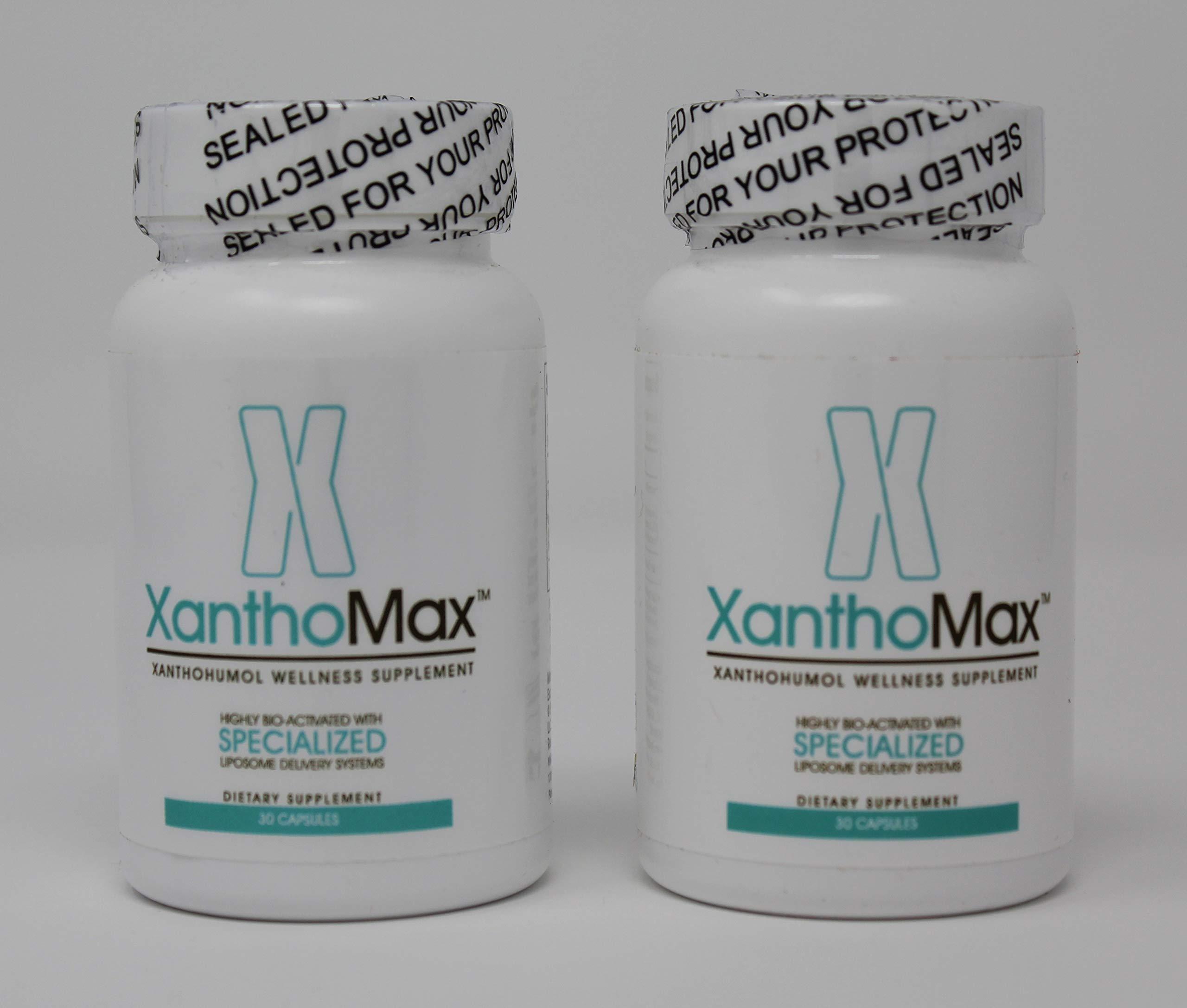 Xanthomax 30 caps (2 Bottles of 30 caps)