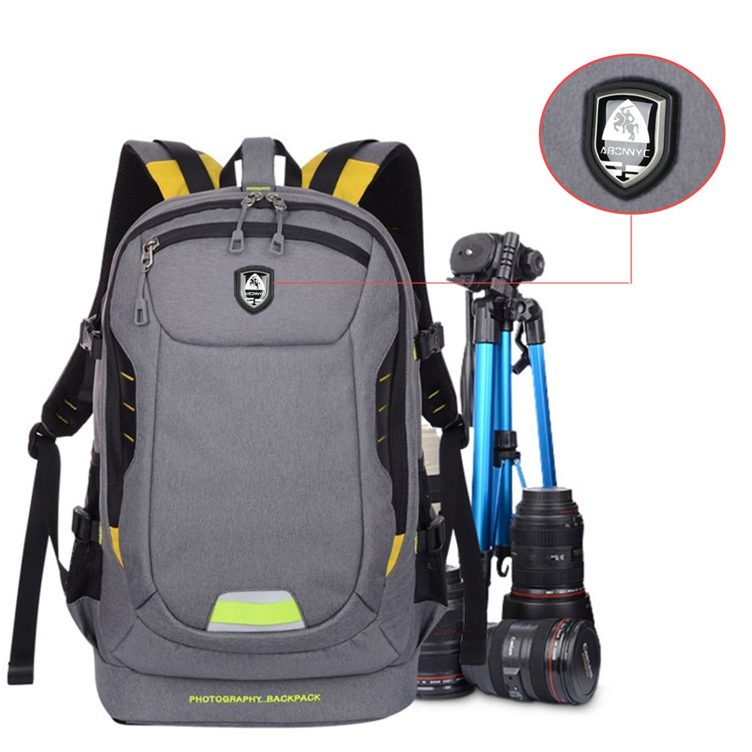 Waterproof Photo Backpack Camera Bag For Sony Canon Eos Nikon Panasonic Olympus Fujifilm Outdoor Travel Camera Case Lens Bag And To Have A Long Life. Accessories & Parts Camera/video Bags
