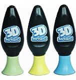 3D Magic – 3 Stylos Gel 3D – Recharge 3 Couleurs – Modèle Aléatoire