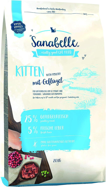 Sanabelle Kitten | Comida Seca para Gatitos | para Gatitos hasta 12 Meses De Edad 2500 g