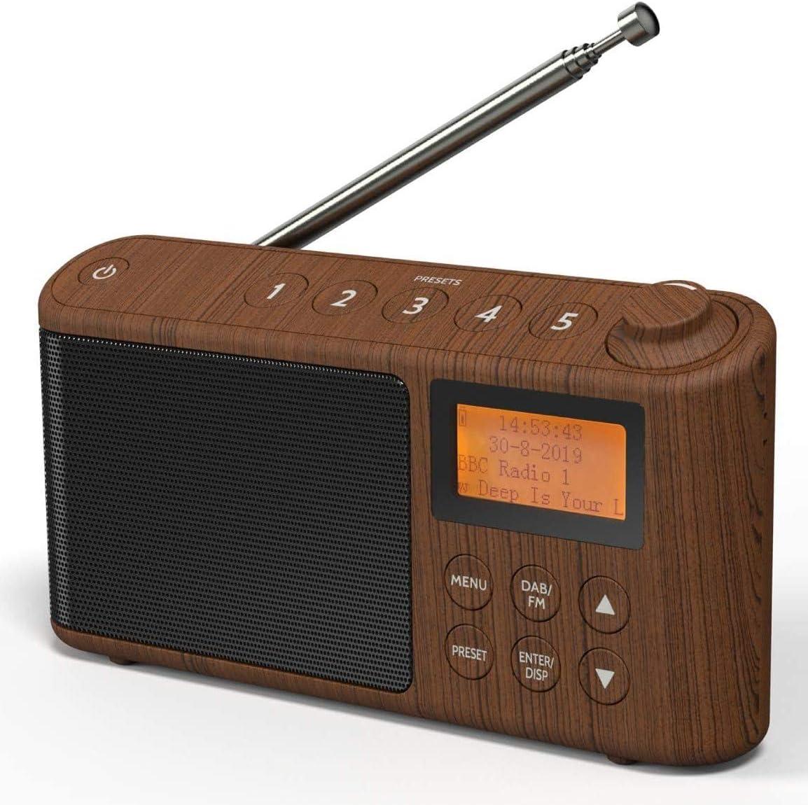 Dab Dab Plus Fm Radio Small Digital Radio Portable Elektronik