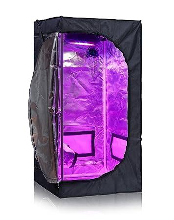 TopoLite 24u0026quot;x24u0026quot;x48u0026quot; 600D Grow Tent Room Reflective Mylar Indoor Garden Growing  sc 1 st  Amazon.com & Amazon.com : TopoLite 24