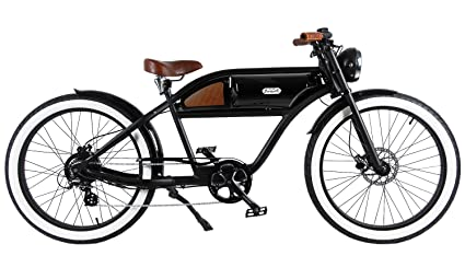 Electric Motor For Bicycle >> Amazon Com Michael Blast T4b Greaser Retro Style Electric Bike