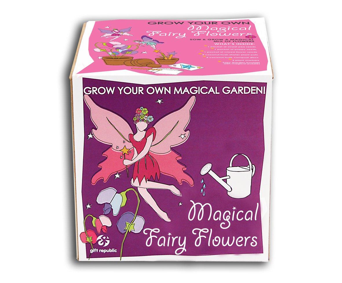 Gift Republic Sow And Grow Magische Elfenblumen-Pflanzset GR120005