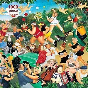 Adult Jigsaw Puzzle Beryl Cook Good Times 1000piece Jigsaw Puzzles Wooden Art Home Decor Kids Toy DIYJigsaw Puzzle