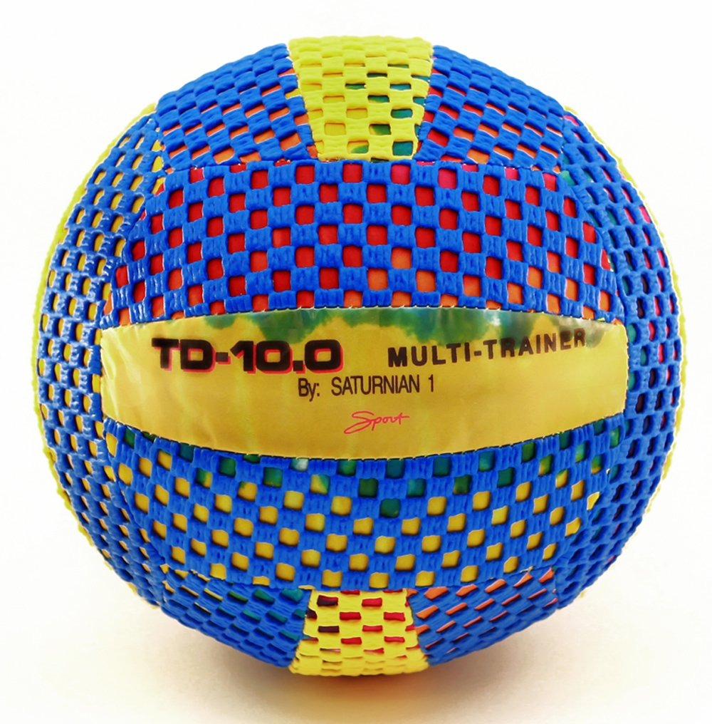 Fun Gripper 10.0 inch Multi Trainer (Sting Free) Perfect Indoor Volleyball By: Saturnian I
