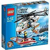 LEGO City - Lancha y torre de vigilancia de los