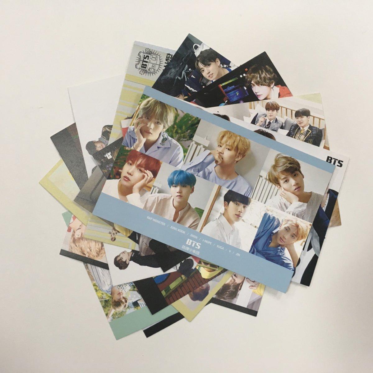 BTS 2018 Seasons Greetings Conjunto de tarjetas postales ...