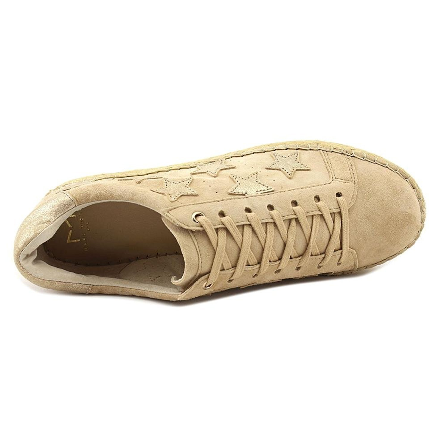 Marc Fisher Womens Marcia Leather Low Top Lace Up, Light Natural, Size 6.0 by Marc Fisher (Image #2)