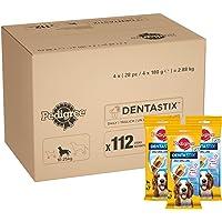 Pedigree Dentastix - Daily Dental Care Chews, Medium Dog Treats from 10 - 25 kg, 1 Box (1 x 2.88 kg/Total of 112 Sticks)