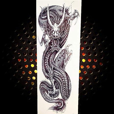 3pcsFull Flower Arm Men and Women Tattoo Rose Tiger Tatoos Long ...