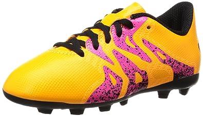 competitive price 991b5 e777a adidas X 15.4 FxG J, Botas de fútbol Unisex Niños  Amazon.es  Zapatos y  complementos