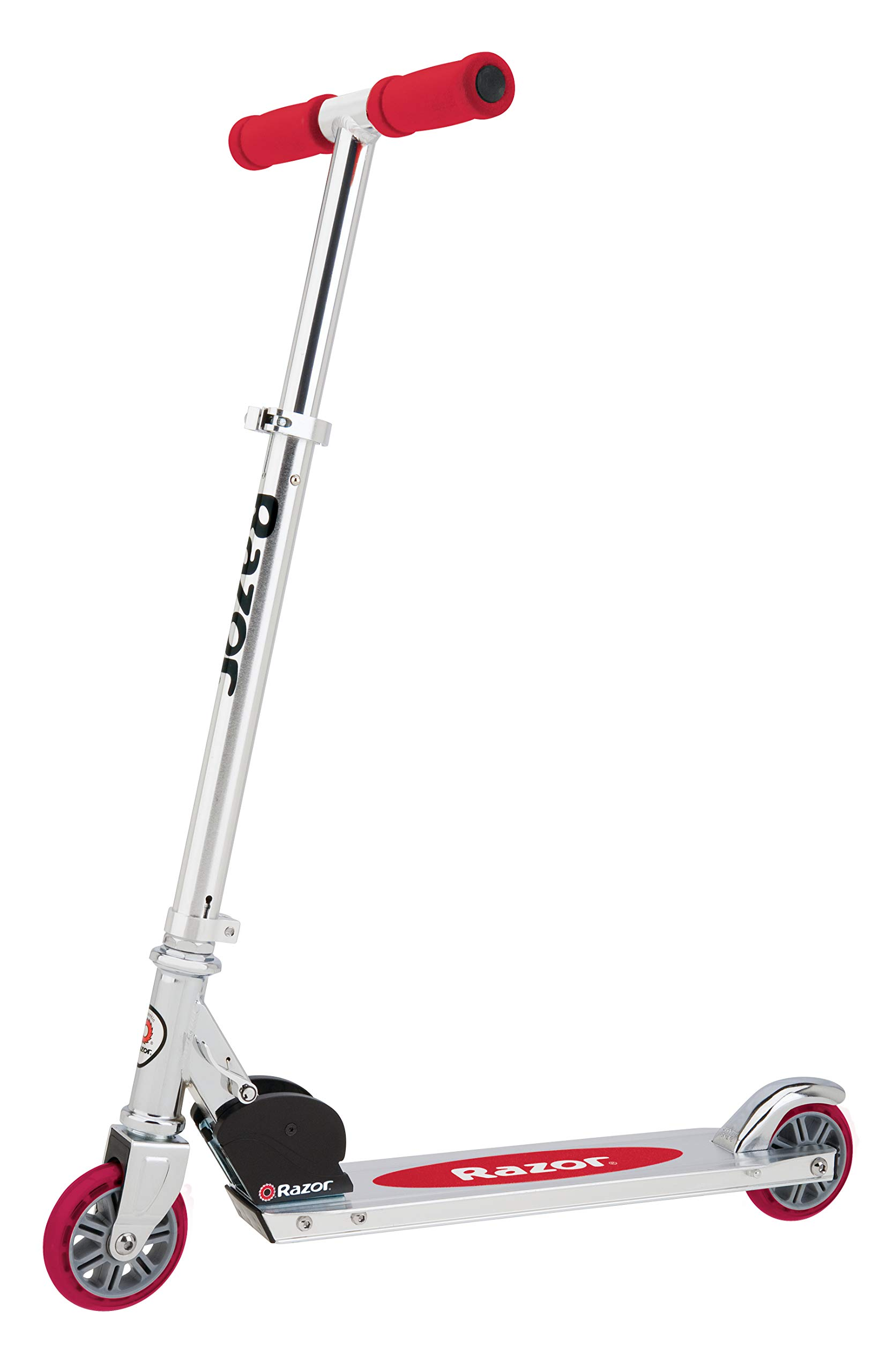 Razor A Kick Scooter for Kids - Lightweight, Foldable, Aluminum Frame, and Adjustable Handlebars