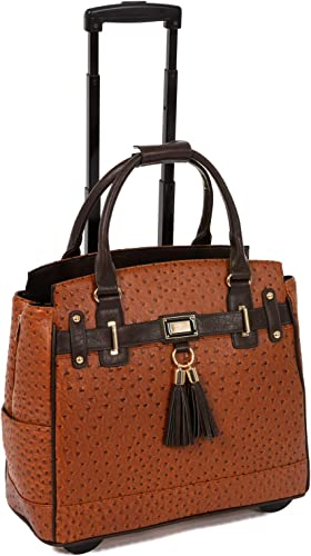 The Uptown Ostrich Carryall Bag